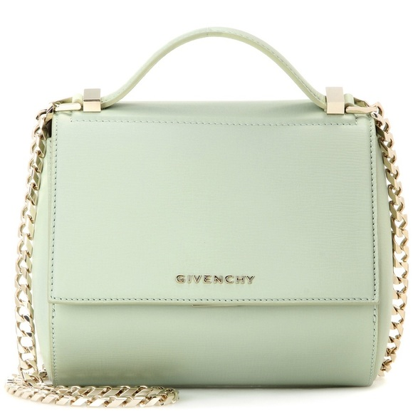 edba4dcbc369 🐠Givenchy mini pandora box bag w chain in aqua🐠